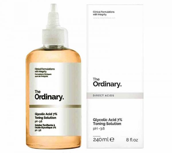 The Ordinary Glycolic Acid 7% Toning Solution pH~3.6